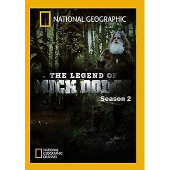 Legenden om Mick Dodge: säsong 2 [DVD] USA import