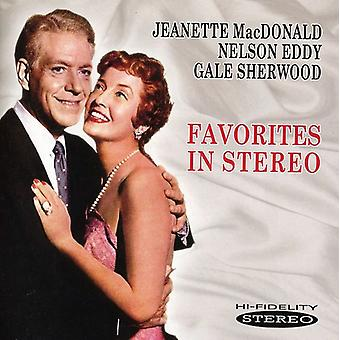 Macdonald/Eddy Sherwood - Favorites in Stereo [CD] USA import