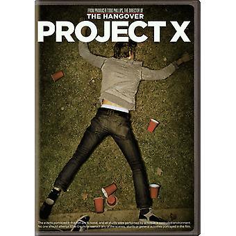 Project X (2012) [DVD] USA importeren
