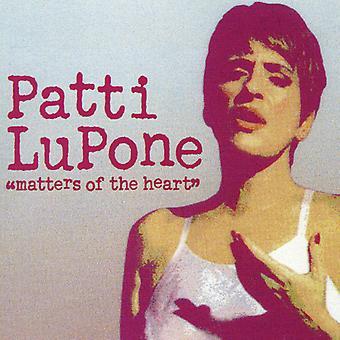 Patti Lupone - spørgsmål af hjertet [CD] USA importerer