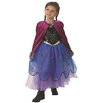 Principessa Anna costume bambini costume costume da Regina di ghiaccio congelato
