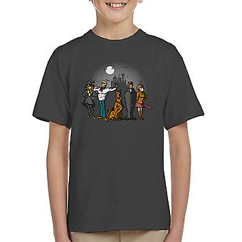 Mysteriet flok Scoobie Doo børne T-Shirt
