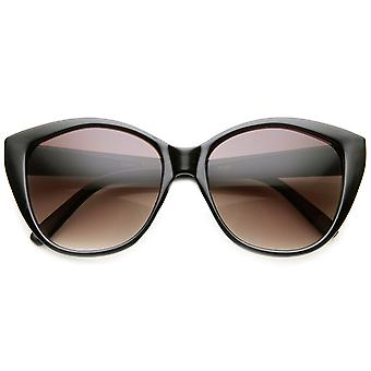 Womens Oversized Oval Mod Glam High Fashion Sunglasses