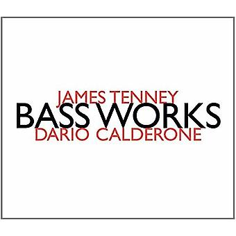James Tenney - Bass werken: Dario Calderone [CD] USA import