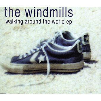 Vindmøller - gå omkring the World EP [CD] USA importerer