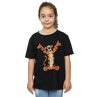 Disney Girls Winnie The Pooh Classic Tigger T-Shirt