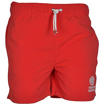 Shorts de baño rojo de Franklin & Marshall Ua927 Campus