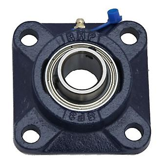 SF25 RHP SELF LUBE CAST IRON FOUR BOLT SQUARE FLANGE BEARING UNIT SF