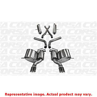 CORSA Performance Cat Back Exhaust 14466 Polished Fits:JEEP 2012 - 2013 GRAND C