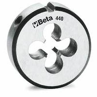 Beta 441 A12X150 M12X1.50 X 38.1Mm/1.1.2In Round Dies Fine Pitch Chrome-Steel