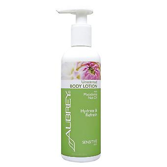 Aubrey Organics, Unscented H&B Lotion, 237 ml
