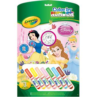 Crayola Coloring by Numbers: Princesses
