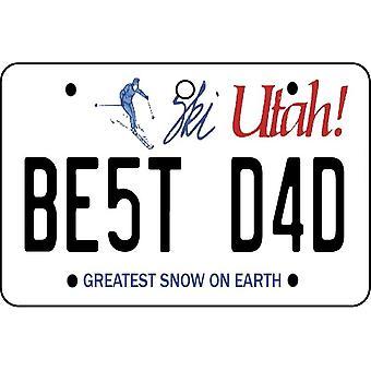 Utah - beste papa kenteken auto luchtverfrisser