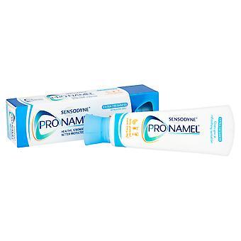 Dentifrice fraîcheur supplémentaire Sensodyne Pro-émail