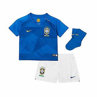 2018-2019 Brazil Away Nike Baby Kit
