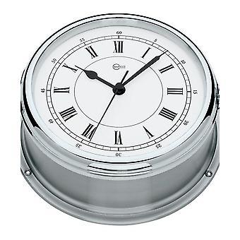 Barigo marine porthole quartz ship clock 587CRED