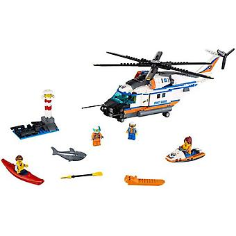 Lego 60166 City Heavy-duty Rescue Helicopter (Babies and Children , Toys , Constructions)