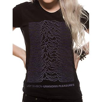 Joy Division - Oversized Placement Print T-Shirt (Fitted)