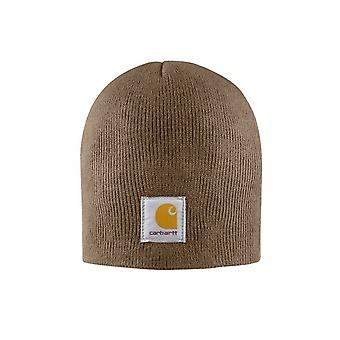 Carhartt Acrylic Knit Beanie - Canyon Brown Mens Winter Ski logo Label Hat