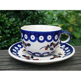 Tasse mit Untertasse - Keramik Geschirr - Tradition 67 - Tee u. Kaffee - BSN 62398