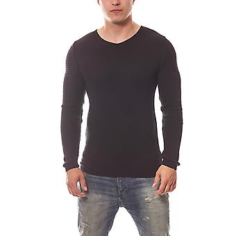CARISMA knitted sweater men's long sleeve black