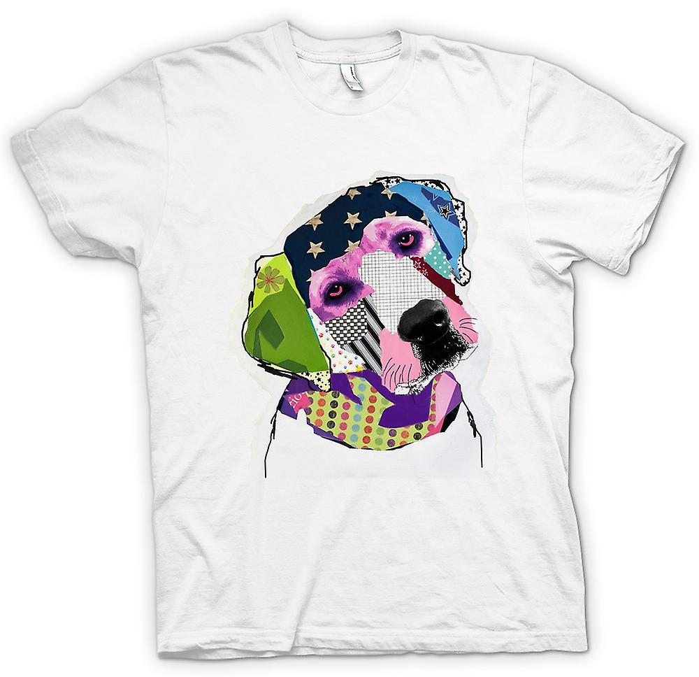 Womens T-shirt - Labrador - Cool - Pop Art - Cut Out