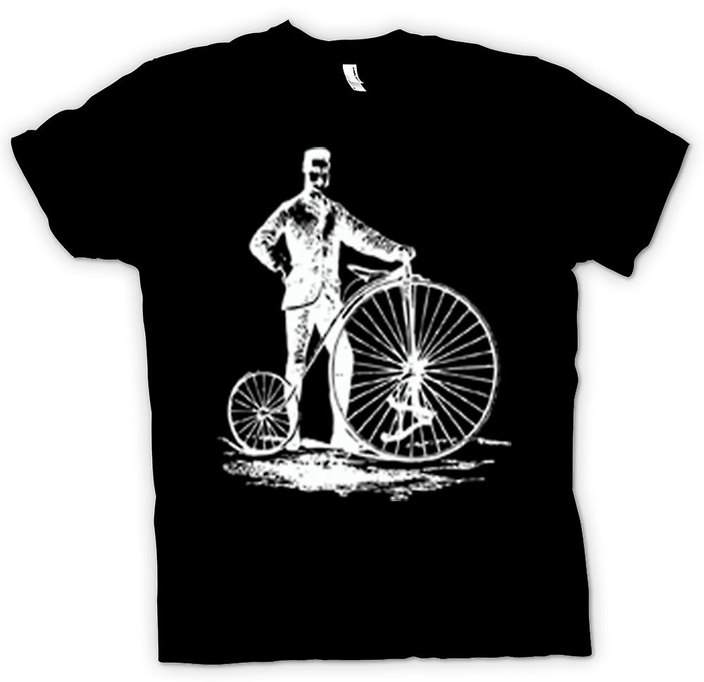 Womens T-shirt - Penny Farthing Classic Bicycle