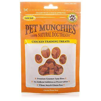 Haustier Munchies Hund Training behandelt mit Huhn, 50 g