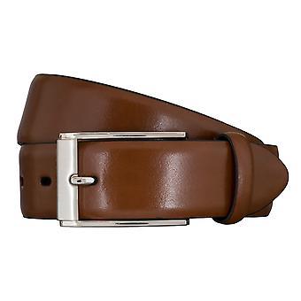 LLOYD Men's belt belts men's belts Cognac 5857