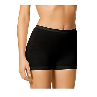 Mey Women 67304-3 Women's Exquisite Black Solid Colour Knickers Panty Full Brief