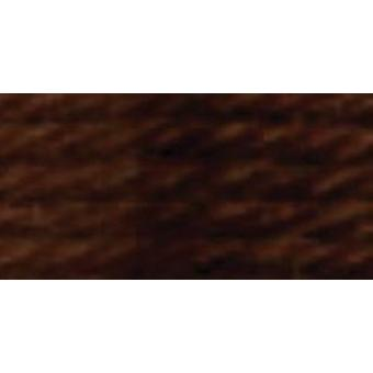 DMC Tapestry & Embroidery Wool 8.8yd-Very Dark Golden Brown