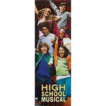 Disney High School Musical - Door Poster Poster Print
