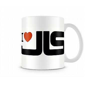 Ich liebe JLS! Bedruckte Becher