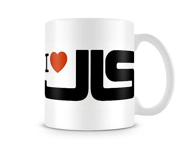 Ik hou van JLS! Bedrukte mok