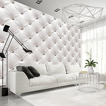 Behang - witte elegantie