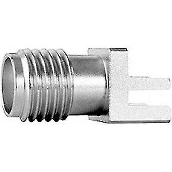 SMA connector Socket, horizontal mount 50 Ω Telegärtner J01151A1271 1 pc(s)
