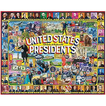 United States Presidents 1000 Piece Jigsaw Puzzle 750Mm X 600Mm