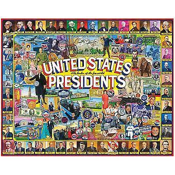 Соединенные Штаты президентов 1000 кусок головоломки 750 мм Х 600 мм