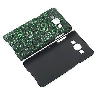 Cell phone dækning case kofanger shell for Samsung Galaxy A5 2015 3D Star Green