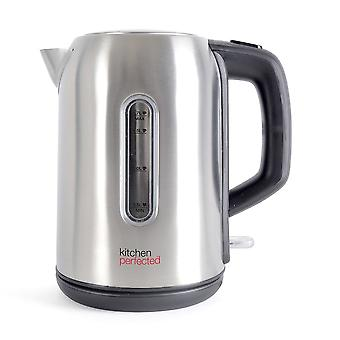 Kitchen Perfected 2.2Kw 1.7Ltr Cordless Kettle - Brushed Steel