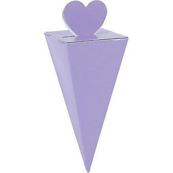 Amscan Cone Favour Boxes (Pack Of 50)