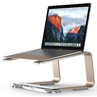 Griffin GC42028 Elevator Desktop Stand for Laptops Mac & PC- Matte Gold/Clear