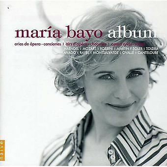 Maria Bayo - Mar a Bayo Album [CD] USA import