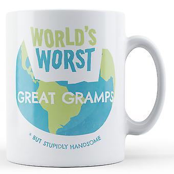 World's Worst Great Gramps - Printed Mug