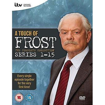 A Touch of Frost - Complete Series 1-15 DVD Box Set ITV
