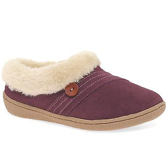 Relax Slippers Snug Womens Warm Lined Full Slippers
