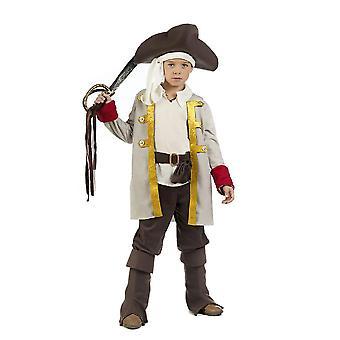 Piratenjunge pirat kaptein barn kostyme vill pirat boy drakt