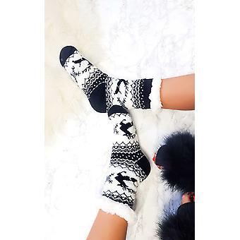 IKRUSH Womens Zoe Winter gemütliche Socken 5-8