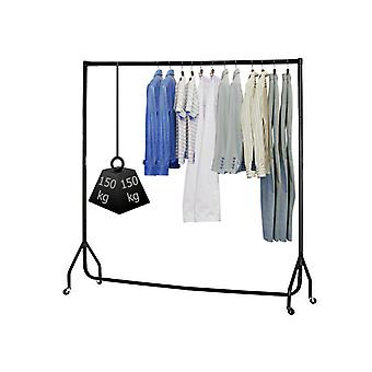 Hyfive Clothes Rail On Wheels Heavy Duty Clothes Rack Garment Hanger 3ft Long