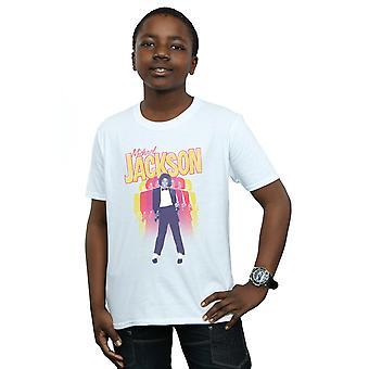Michael Jackson jungen wiederholen Fade T-Shirt